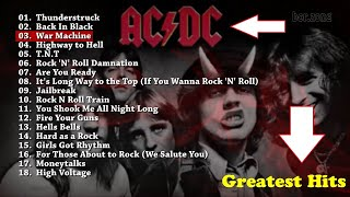 AC/DC |Greatest Hits [Playlist] | The Best