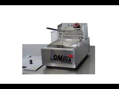 Φριτέζα Ηλεκτρική Μονή 5 Ltr - Single Electric Fryer 5 Ltr