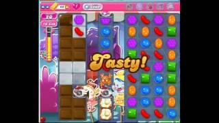 Candy Crush Saga Level 1242 , very tricky one