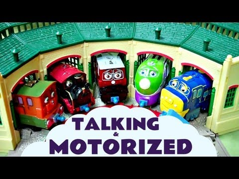 Chuggington Motorized at Tidmouth Sheds Kids Toy ThomasThe Train Set Thomas The tank Engine