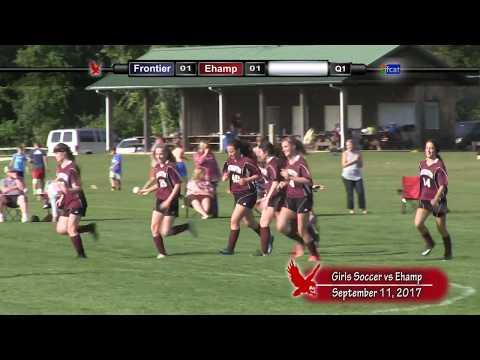 Frontier Regional School Girls Soccer VS Easthampton High School