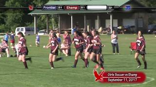 Frontier Regional School Girls Soccer VS Easthampton High School