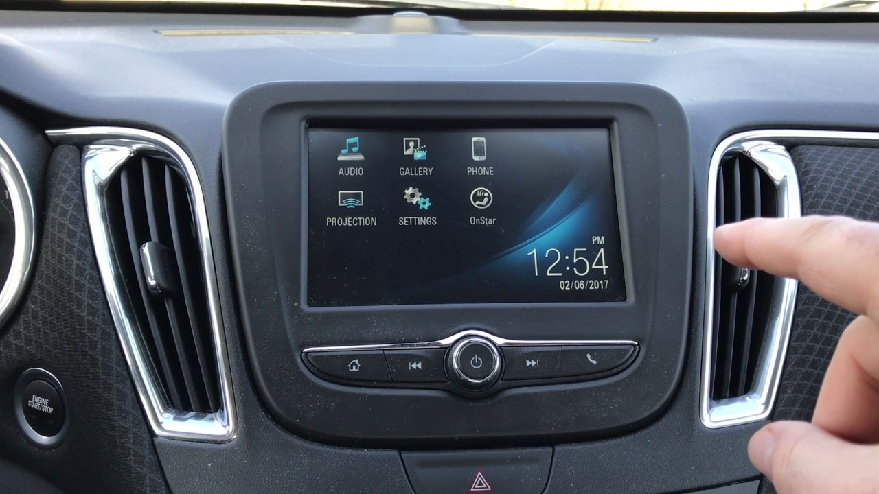 Mylink 7 Inch Infotainment Secret Menu Access On 2016 Malibu Lt