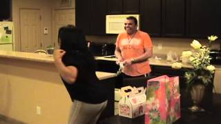 Hilarious Mother's Day Gift Mouse Prank Pranks Gone Wrong Caught on camera America's funniest videos
