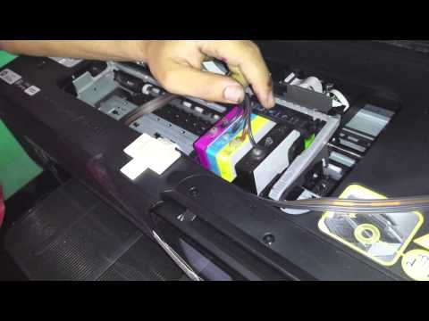 how to fix printerhead error on hp printer 6968