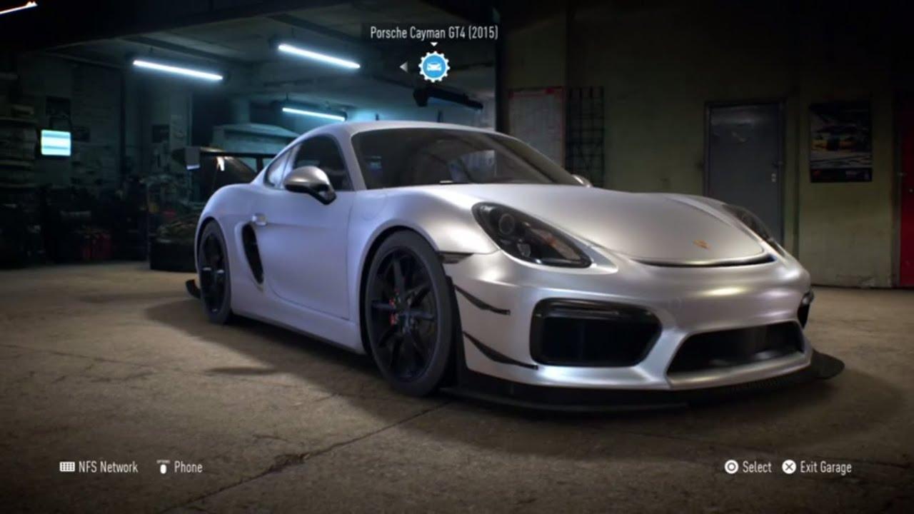 need for speed 2015 porsche cayman gt4 1019 hp build gameplay - Porsche Cayman 2015 Gt4