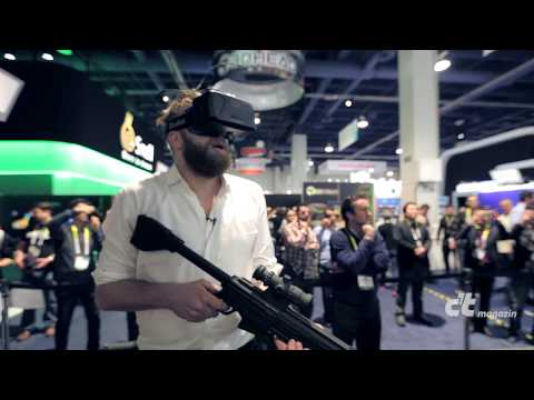 Ausprobiert: Virtual-Reality-Laufstall Virtuix Omni