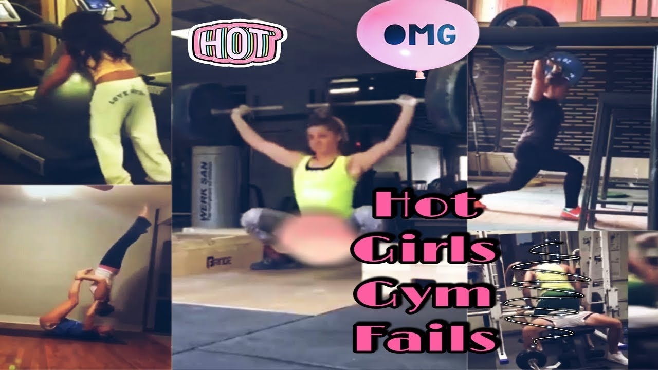 Hot Girls Gym Fails Compilation – FUNNY VIDEO 2019