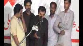 Zakir Qamar Raza Naqvi  majlis Qasir e Batool Lahore jalsa 2015 Allama Hamid Raza Sultani