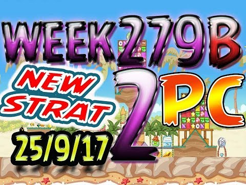 Angry Birds Friends Tournament Level 2 Week 279-B NEW STRAT Highscore POWER-UP walkthrough