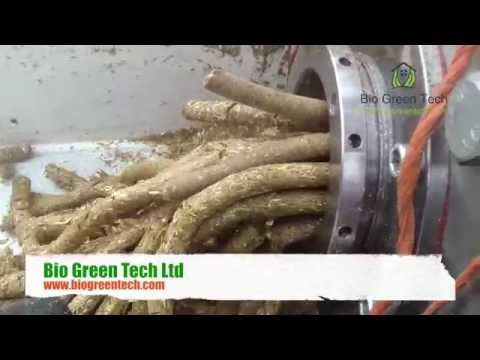 🔴 Mobile Biomass Fuel Pellet - Fuel Briquette Plant. Part 1