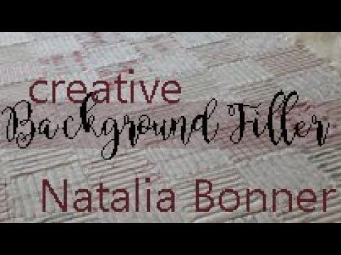 Creative Background Filler with Natalia Bonner