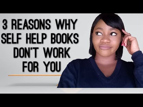 WHY PERSONAL DEVELOPMENT BOOKS DON'T WORK FOR A LOT  OF PEOPLE.