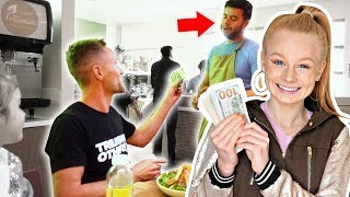 WE TIPPED $1000 TO WAITERS!  **emotional**