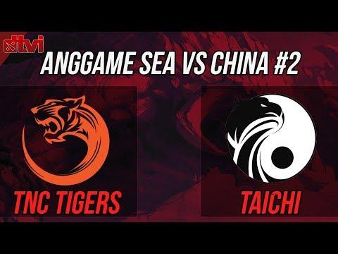 🔴 : TNC Tigers vs Taichi  Cast  Justincase & ANONIM #CASTERANTICRINGE
