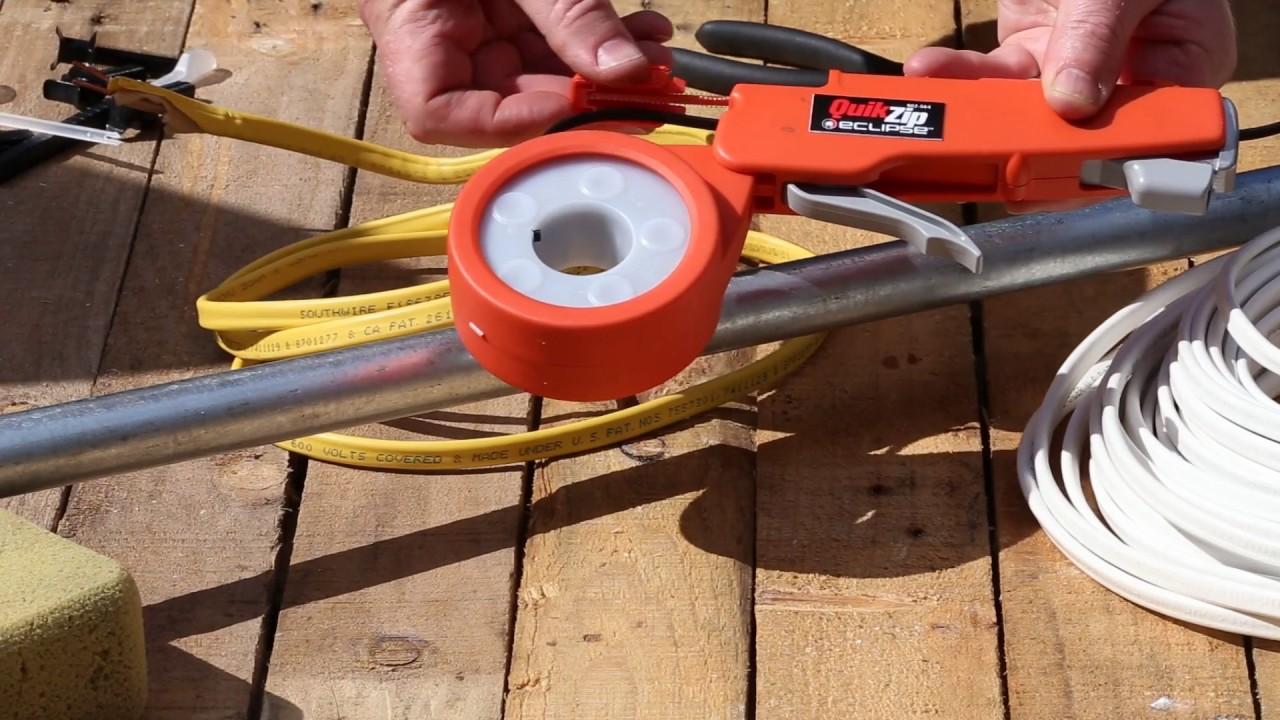 Eclipse Tools 902 564 Quikzip Cable Tie Gun Youtube