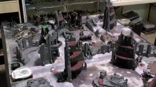 Warhammer 40k Battle Report Iron Hands vs Dark Eldar 1500pts