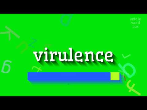 "How to say ""virulence""! (High Quality Voices)"