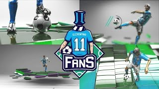 Advertising Video of Moḃile Sport game - 11 Fans, soccer. application