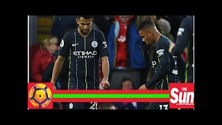 Man City star Gabriel Jesus fuming with Pep Guardiola after Riyad Mahrez's missed penalty against L