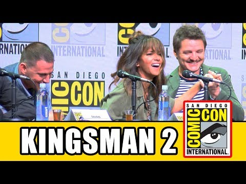KINGSMAN THE GOLDEN CIRCLE Comic Con Panel News & Highlights