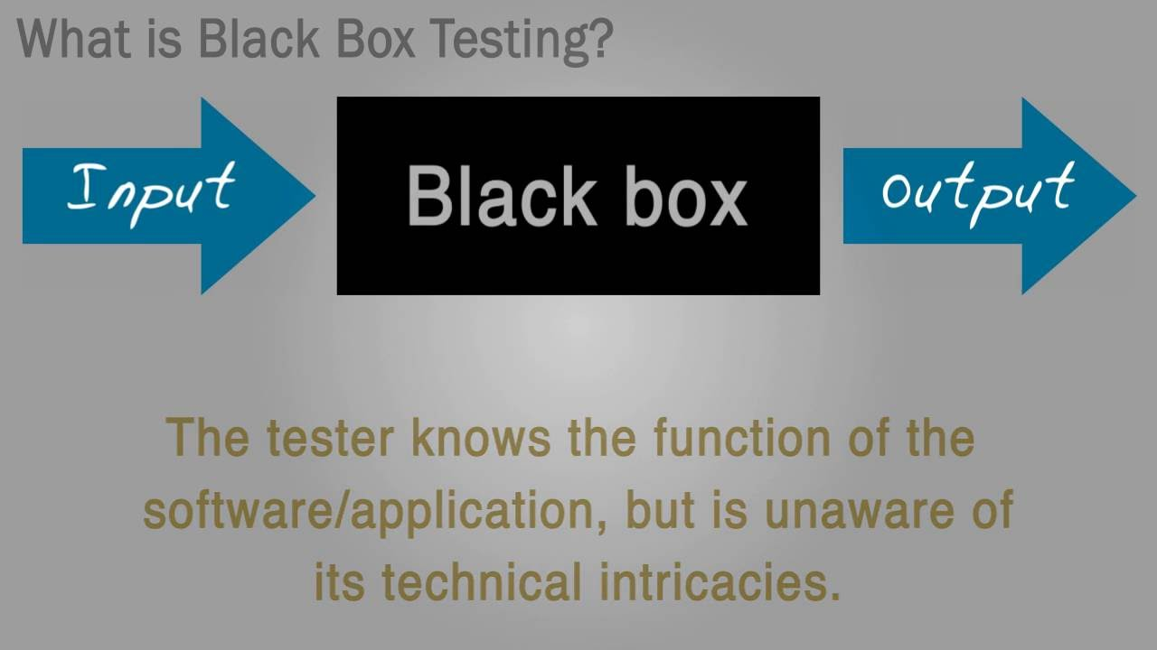 What Is Black Box Black Box Testing Definition From Whatis Com