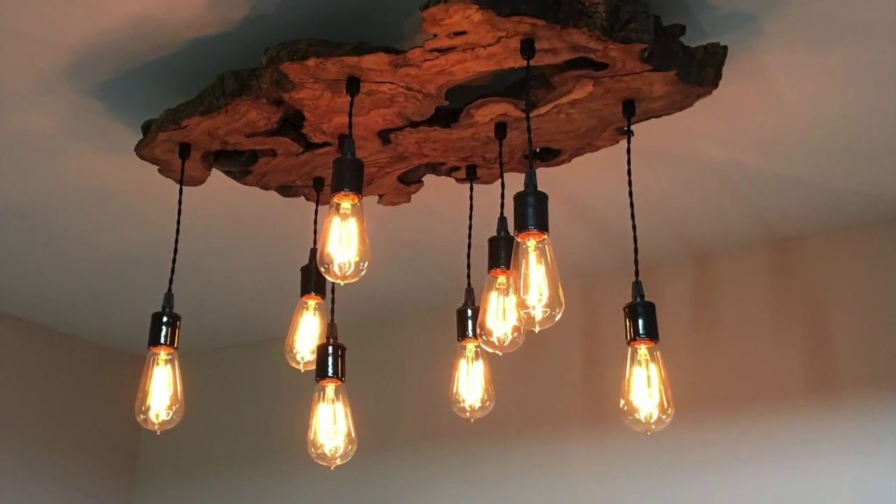 Wood Light Fixtures Video Showcase Id Lights