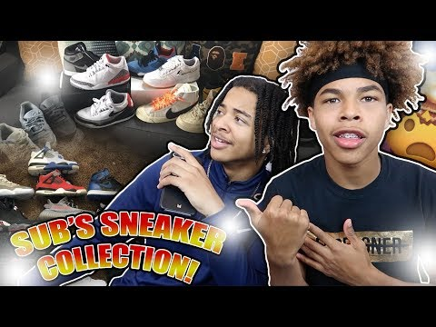 REACTING TO MY SUBSCRIBERS SNEAKER COLLECTION🔥🤯 Part 4  Ft Trio