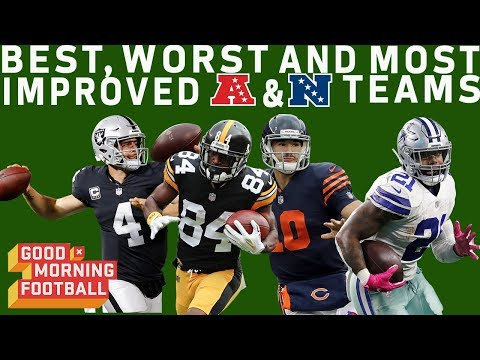 Best, Worst and Most Improved Teams at Midseason | GMFB | NFL Network