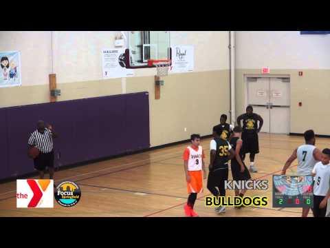 Dunbar Y Youth Basketball Summer League - Knicks vs Bulldogs