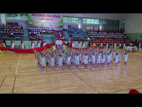 Trường Tiểu Học Trưng Trắc - Khai Mạc Hội Khỏe Phù Đổng Quận Hai Bà Trưng.