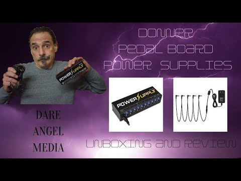 Donner Pedal Board Power Supplies DPA-1 And DP-1 Reviews