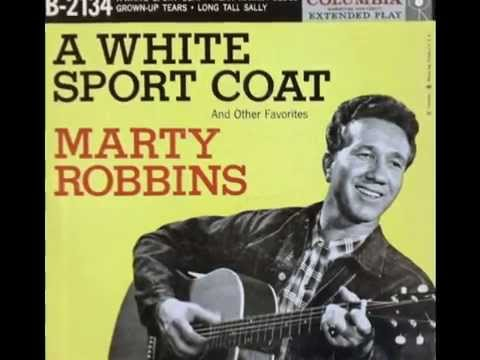 Marty Robbins - A White Sport Coat  (Rare 'Mono-to-Stereo' Mix  -1957)