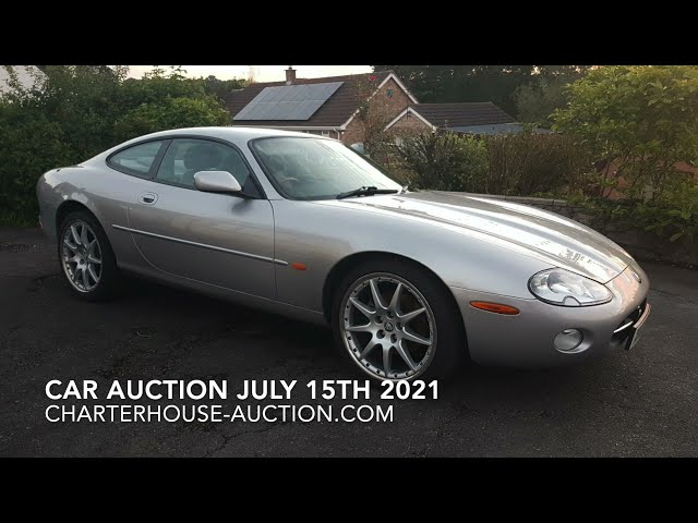 What is in the classic car auction on July 15th 2021