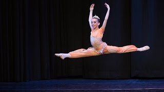 "ODALISQUE VARIATION FROM ""LE CORSAIRE""   JULIA MIRO (11 years old) BRONCE DWC 2015"