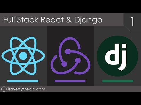 Full Stack React & Django [1] - Basic REST API