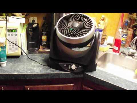 Review for Ozeri Brezza II Dual Oscillating Desk Fan