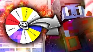 TROLLEO a HACKERS con LA RUEDITA CULERA!! - Trolleo en Minecraft (Trolleando Hackers #3)