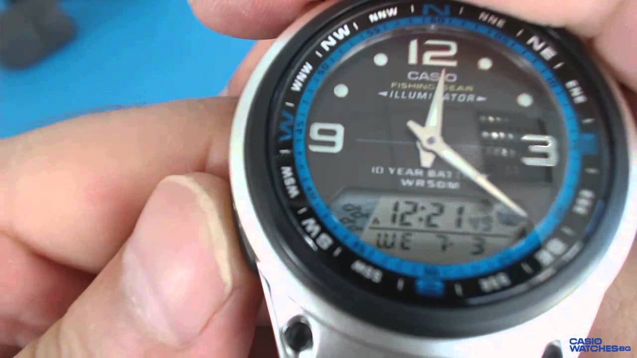 montre casio fishing gear aw 82d 1aves  GdeHb