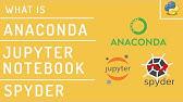 Install Anaconda Python, Jupyter Notebook And Spyder on