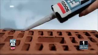 Fix All: Perfect solution for all interior and exterior bonding and sealing applications