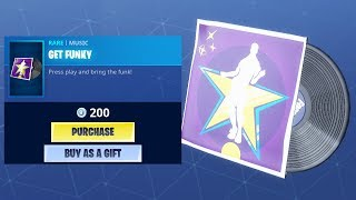 *NEW* GET FUNKY LOBBY MUSIC! (Fortnite Item Shop 4th May)