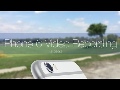 Apple iPhone 6 Camera 1080p Video Recording + Focus Pixels, Microphone Test, Video Stabilization