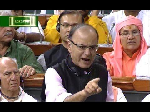 Arun Jaitley: Rahul Does Not Have Guts to Debate In LOK SABHA