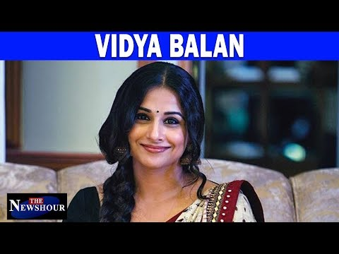 Vidya Balan - The Actress With An Opinion | The Newshour Debate (6th November)