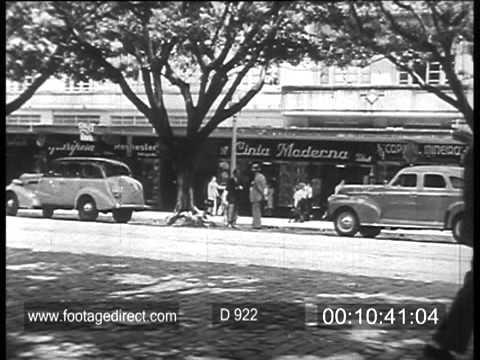 Brazil - Belo Horizonte - Archive Film