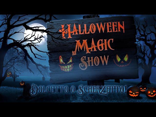 Halloween Magic Show 2020