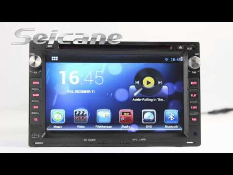2000 2001 2002 2003 2004 2007 Volkswagen Polo Sat Nav Audio CD Player with Android 4 2 OS Radio RDS