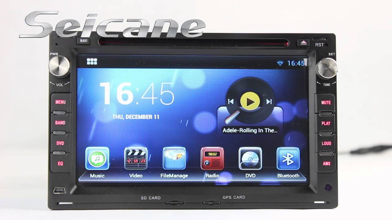 Santa Fe Ford >> 2000 2001 2002 2003 2004 2007 Volkswagen Polo Sat Nav Audio CD Player with Android 4 2 OS Radio ...