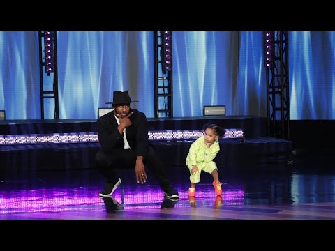 tWitch & Kid Dancer ZaZa Take the Stage - Exclusive